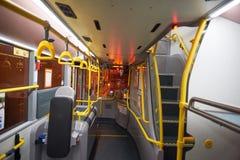 Autobús de dos plantas en Hong Kong Imagenes de archivo