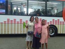 Autobús de FM del deseo fotografía de archivo