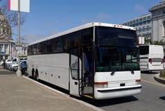 Autobús de la carta del viaje Foto de archivo libre de regalías