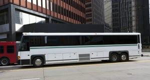 Autobús de la carta del viaje Fotografía de archivo