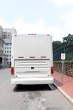 Autobús de la carta del viaje Imagenes de archivo