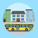 Autobús de la ciudad Imagen de archivo