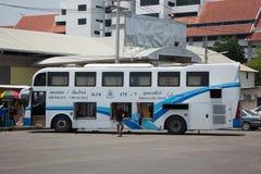 Autobús de la compañía del viaje de Phuluang ningún 175-7 ruta Khonkaen y Chiangmai imagen de archivo libre de regalías