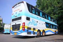 Autobús de la compañía del viaje de Pornpiriya ningún 18-25 Foto de archivo libre de regalías