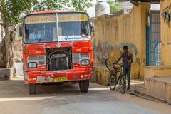 Autobús de la India fotografía de archivo libre de regalías