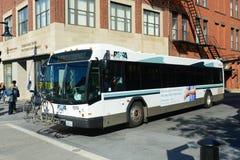 Autobús de la providencia RIPTA, providencia, RI, los E.E.U.U. Imagen de archivo