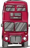Autobús de Londres imágenes de archivo libres de regalías