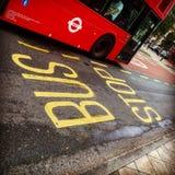 Autobús de Londres Imagen de archivo