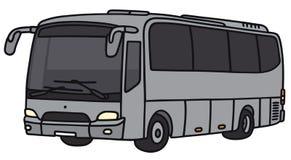 Autobús de plata Fotos de archivo
