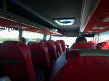 Autobús de Polski Fotografía de archivo