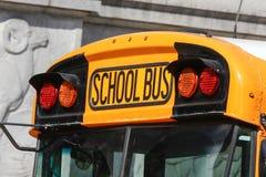 Autobús de Scholl Foto de archivo libre de regalías