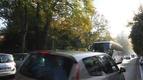 Autobús del coche de Setra que transporta a gente