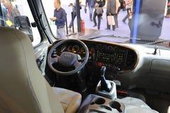 Autobús del CONDADO de Hyundai de la Corea del Sur Fotos de archivo libres de regalías