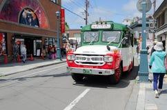 autobús del ld para los viajeros Imagen de archivo libre de regalías