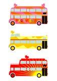 Autobús del partido Fotografía de archivo