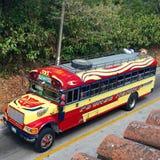 Autobús del pollo Foto de archivo libre de regalías