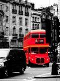 Autobús del rojo de Londres Imágenes de archivo libres de regalías