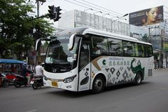 Autobús del viaje de CCT Express Transport Company Fotografía de archivo