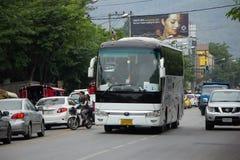Autobús del viaje de New Udomchai Transport Company Foto de archivo libre de regalías