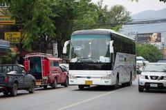 Autobús del viaje de New Udomchai Transport Company Fotos de archivo