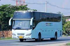 Autobús del viaje del nuevo transporte de Udomchai Fotografía de archivo libre de regalías