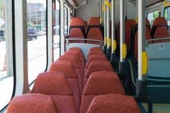 Autobús eléctrico en Tailandia Fotos de archivo libres de regalías