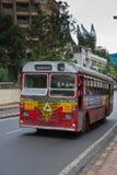 Autobús en Bombay imagen de archivo