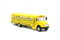 Autobús escolar del juguete Fotos de archivo libres de regalías