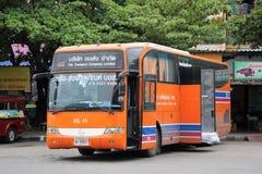 Autobús expreso del cargo Imágenes de archivo libres de regalías