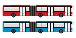 Autobús grande de la ciudad stock de ilustración