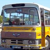 Autobús maltés del vintage Imagen de archivo libre de regalías