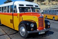 Autobús maltés del vintage Fotografía de archivo libre de regalías