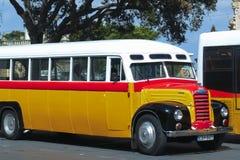 Autobús maltés del vintage Imágenes de archivo libres de regalías