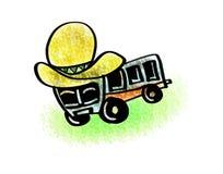 Autobús mexicano del sombrero Imagen de archivo