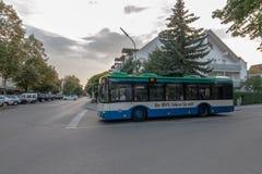 Autobús público en Munich imagen de archivo