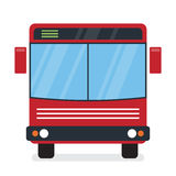Autobús rojo Foto de archivo