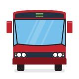 Autobús rojo Imagenes de archivo