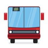 Autobús rojo Fotografía de archivo