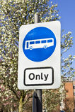 Autobús solamente Fotos de archivo