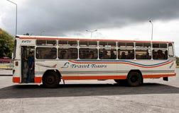 Autobús urbano en Mauricio Fotografía de archivo