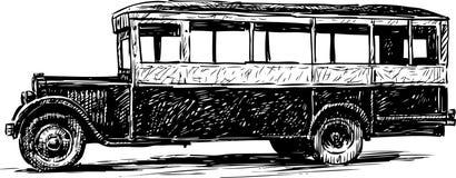 Autobús viejo Imagen de archivo libre de regalías