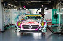 Autobacs det toppna GT serieloppet 2015 3 Royaltyfri Bild