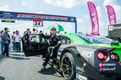 2014 Autobacs Super GT Royalty-vrije Stock Afbeeldingen