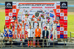 Autobacs Super GT 2015 Royalty-vrije Stock Foto's