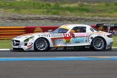 AUTOBACS SUPER GT Royalty-vrije Stock Foto's