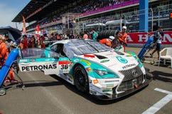 2015 Autobacs Super GT Royalty-vrije Stock Foto's