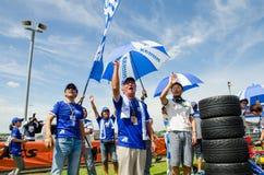 2015 Autobacs Super GT Royalty-vrije Stock Foto