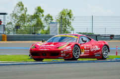 Autobacs Super GT 2015 royalty free stock photo