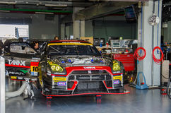 The 2015 Autobacs Super GT Royalty Free Stock Image