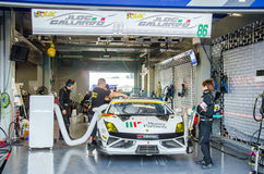 2014 Autobacs Super GT Stock Image
